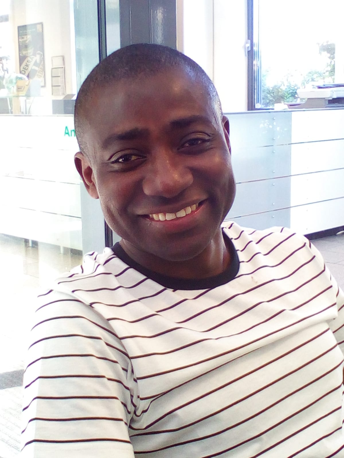 Dr Faisal Garba Muhammed, winner of the Faculty of Humanities' 2020 Emerging Researcher Award