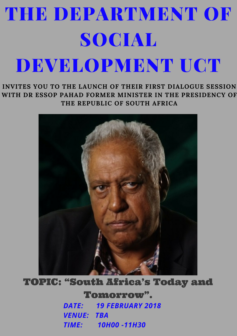 Dialogue with Dr Essop Pahad