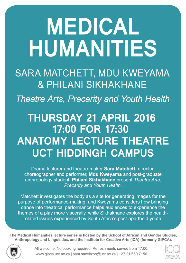 Medical Humanities Lecture Series Faculty Of Humanities